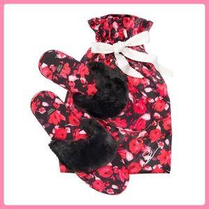 New Victoria's Secret Signature Satin Slippers